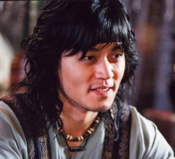 Lee Seo Jin in the film The Shadowless Sword;