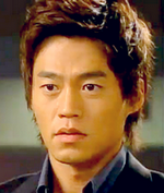 Leo Seo Jin as Kang Jae in the Korean drama series Lovers;