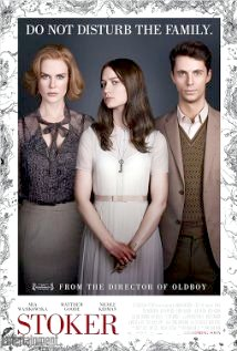 Film poster for Stoker